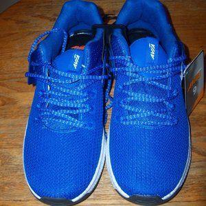 Mens Blue Avia Lightweight Mesh Sneakers